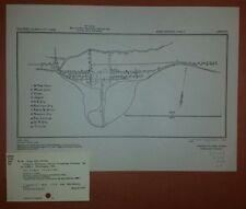 1944 US Army Map City Plan of Lingayen Pangasinan Philippines WW 2 Military