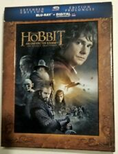 The Hobbit: An Unexpected Journey (Blu-ray Disc, 2013, 3-Disc, Slipcover)