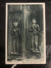 Mint Saigon Vietnam RPPC Postcard ruins of Angkor Central Sanctuary