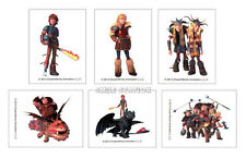 12 How to Train Your Dragon 2 Temporary Tattoos Kid Party Goody Bag Favor Supply