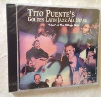 TITO PUENTE'S CD GOLDEN LATIN JAZZ ALL STARS RMM 80879 JAZZ