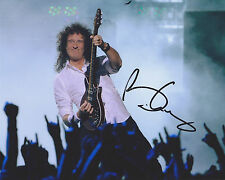 Brain May HAND SIGNED 8x10 Photo, Autograph, Queen, Kerry Ellis, Bohemian Flash