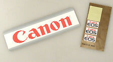 (PRL) CANON ADESIVO CANON EOS AUTOCOLLANTS COLLECTION STICKER LOT LOTTO
