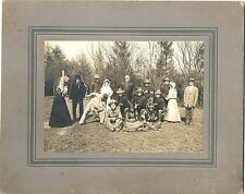 Shippensburg PA Cabinet Photo Actors in Full Costume – Soldiers, Indians, Cowboy