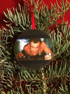 DIE HARD Bruce Willis John McClane Christmas Tree Ornament Ugly Holiday Party
