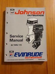 Johnson Evinrude Outboard Service manual 85 THRU 115