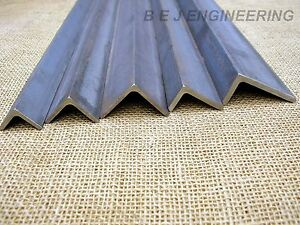 Mild Steel Angle - Equal & Unequal - Various Sizes & Lengths - Angle Iron