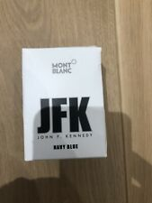 Montblanc Limited Edition Ink Jfk Navy Blue - 30 ML Writers Edition