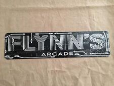 "Flynns Arcade Tron Sign 6""x24"" Aluminum Flynn'S Mancave Gift"