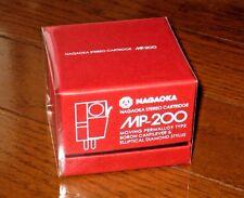 NAGAOKA MP-200 BORON CANTILEVER AUDIOPHILE MM CARTRIDGE/STYLUS MP200 BRAND NEW