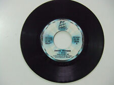 Stevie Wonder ‎– I Wish - Disco Vinile 45 Giri ITALIA 1976 (No Cover)