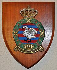 RNLAF 223 geleide wapen Sq KLu plaque shield Royal Netherlands Air Force Rheine
