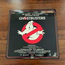 Ghostbusters Laserdisc