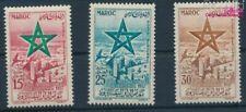 Marruecos Michel.-No..: 423-425 (completa edición) con charnela 1957  (9413396