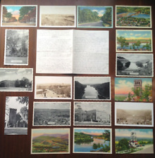 More details for 18 postcards letter usa ma turners falls greenfield sullivan family 1940s ww2