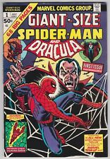 Giant-Size Spider-Man #1 F-VF 7.0 Dracula Human Torch Ross Andru Art!