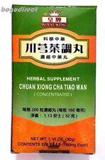 Royal King Chuan xiong cha tiao wan (Migraine,tension,chronic head) 川芎茶调丸 200 ct