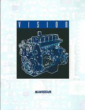 Truck Brochure - Navistar - International - V-Engine Inline Vision (T1821)