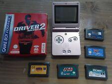 Nintendo GAME BOY ADVANCE SP ROSA PLUS varios juegos de la consola