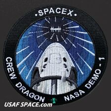 NEW SPACEX SpX D-1 NASA Demo-1 Crew Dragon ORIGINAL Dragon Capsule Mission PATCH