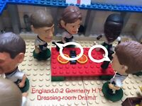 Corinthian Prostars/Headliners. England 96, half time dressing room Tensions