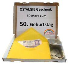 50. Geburtstag 50 DDR Mark* U.v.m. In Dose Zum Verschließen   Geschenk  Ostalgie