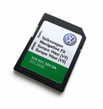 VW SKODA SEAT RNS 310 AMUNDSEN V9 NAVIGATION SD CARD FX WEST EUROPE