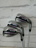 Ladies Benross Pearl Iron Set 6,8+Pw Fubuki 50 Ladies Flex