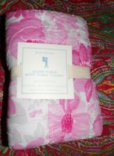 Pottery Barn Kids Lillian Floral Flower Standard Sham, QUILTED, NEW