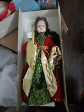 """Telco Christmas Display 24"""" Figure Motionette Victorian Angel With box"""