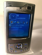 Nokia N80 - Smooth stainless (Unlocked) Smartphone Mobile Slider
