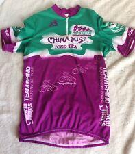 Aussie Bike Cycling Shirt Full Zipper China Mist Sz L