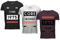 JACK & JONES CORE Herren T-Shirt jcoNILES TEE SS CREW NECK rundhals kurzarm NEU