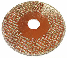 115mm - Diamond coated angle grinder wheel, to Sharpen Stump Grinder Teeth