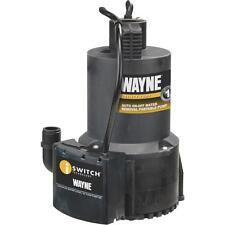 Wayne 1/4Hp Sensor Utilty Pump