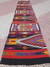 "Anatolian Turkish Kilim Runner,Hallway Rug 29,2"" x 150,3"" Area Rug Carpet Runner"