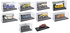 LOT DE 10 CAMIONS 1/43 FIAT RENAULT CITROEN - CAMIONETTES IXO MODEL CAR