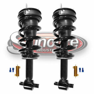 07-17 Cadillac Escalade Front Struts Autoride Conversion to Passive Kit w Bypass