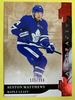 2019-20 Upper Deck Artifacts Ruby Parallel #140 Auston Matthews 105/399 Toronto