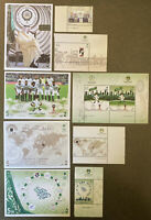 Saudi Arabia 2018 Full Year Set Of Stamps And Minisheets