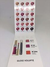 YSL Rouge Gloss Volupte Shine Lipgloss Samples w/ Lip Brush No 19 49 204