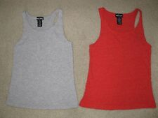 LOT OF 2 WET SEAL TANK TOPS JUNIOR'S SIZE S SMALL