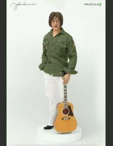 """Molecule8 1/6 Scale John Lennon """"Imagine"""" Figure w/2 Heads/3 OutfitsNEW/SEALED"""