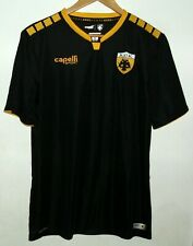 AEK ATHENS AUTHENTIC FOOTBALL SHIRT BY CAPELLI MEDIUM #91 GREECE GREEK JERSEY