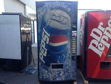 Pepsi Soda Vending Machine W/Bill & Coin Accept Not Pretty But Runs Great! 475-9