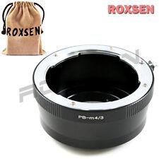 Roxsen Praktica B PB Lens to Olympus Panasonic Micro 4/3 Adapter GF5 E-PL5 OM-D