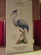 Great Blue Heron - Beauty Of Birds 15th Anniversary - Hallmark Ornament 2019