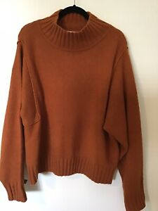 Witchery Jumper L/XL rust Current Style
