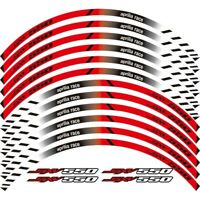 "17"" Reflective Rim Tape Wheel Stripe Decal Trim Sticker For Aprilia SXV 550 #P"