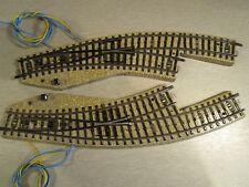 Märklin 5141 5142 Elektro-Bogenweichen Paar links / rechts M-Gleis H0